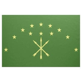 Adygea flagga tyg