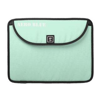 Aero blått sleeves för MacBook pro