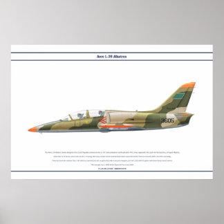 Aero L-39 Libyen Poster