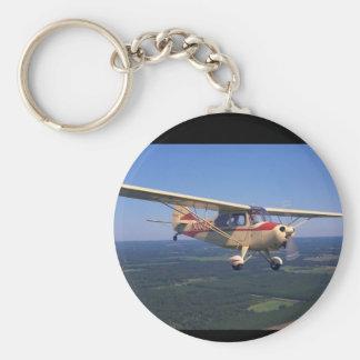 Aeronca 7AC mästare, flyg 1947_Classic Rund Nyckelring