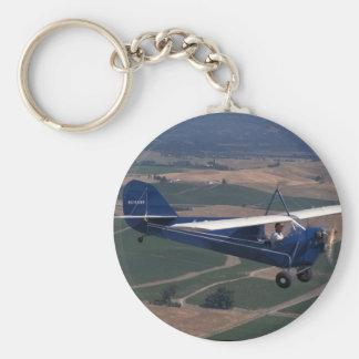 Aeronca C-3, 1931, Schellville_Classic flyg Rund Nyckelring