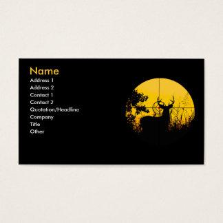Affären profilerar kortet visitkort