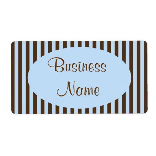 Affärsetiketter Fraktsedel