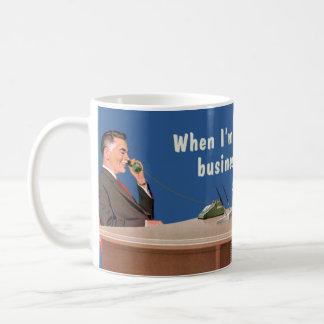 affärsmannen uttrycker kaffe koppar