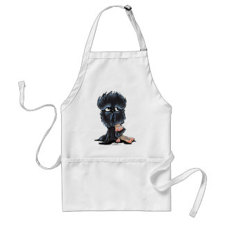 Affenpinscherapaleksak Förkläde