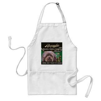 Affenpinscheren brännmärker - Organisk Kaffe Förkläde