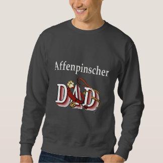 Affenpinshcer pappaAparrel gåvor Sweatshirt