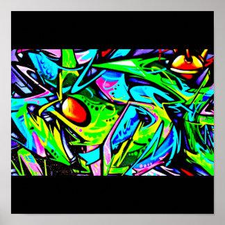 Affisch-Abstrakt Diverse-Grafitti galleri 10