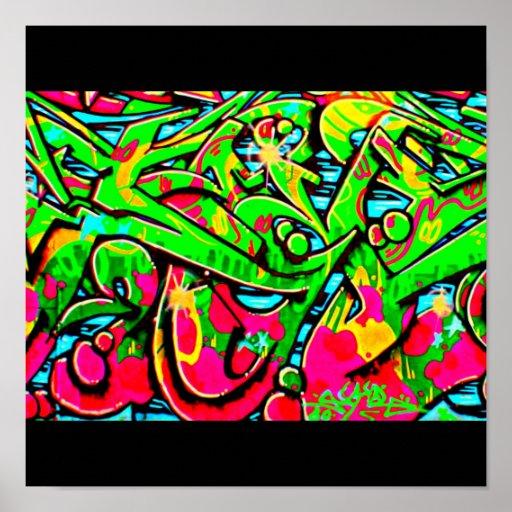 Affisch-Abstrakt/Diverse-Grafitti galleri 13