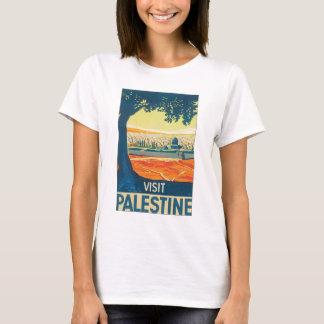 Affisch för besökPalestina vintage resor Tshirts