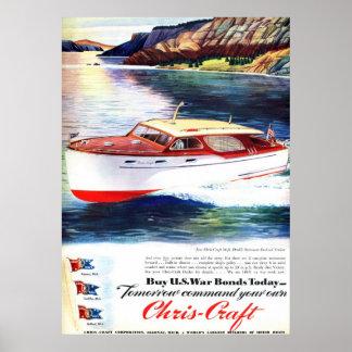 Affisch för Chris-Hantverk krigförbindelser