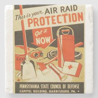 Affisch för försvar WPA för skydd för Stenunderlägg