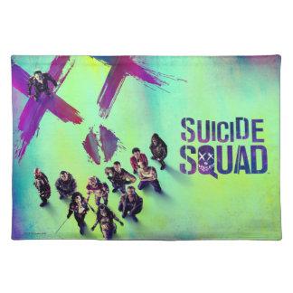 Affisch för grupp för självmordSquad   Bordstablett