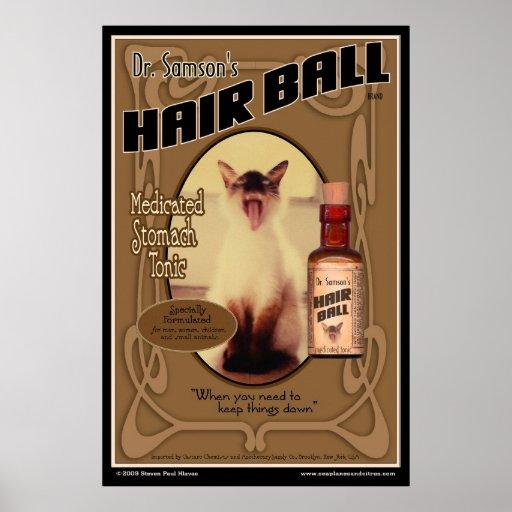 Affisch för hårbollTonic