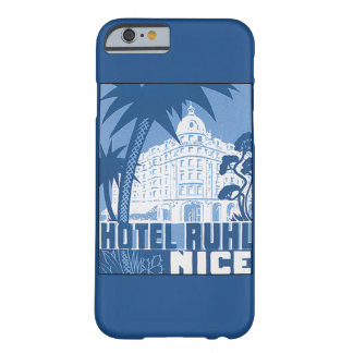 Affisch för hotellRuhl trevlig vintage resor Barely There iPhone 6 Skal