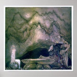 Affisch för John Bauer trollmor Poster