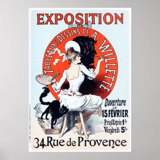 Affisch för Jules Cheret utläggningart nouveau Poster