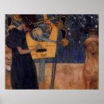 Affisch för Klimt musikharpa