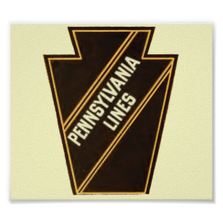 Affisch för logotyp för Pennsylvania