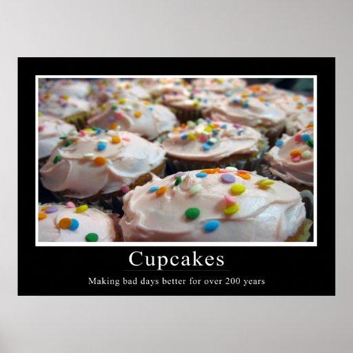 Affisch för muffinDemotivational stil