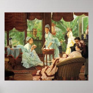 Affisch för party för James Tissot VictorianTea Poster