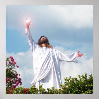 Affisch för påsk för Jesus Kristusuppståndelse kri