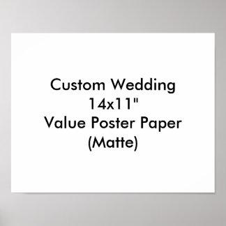 Affisch för personligt bröllpungkarlparty