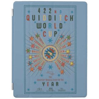 Affisch för Quidditch vmblått iPad Skydd