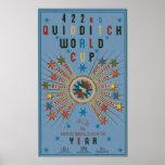 Affisch för Quidditch vmblått Poster
