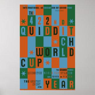 Affisch för QUIDDITCH™-vmschackbräde