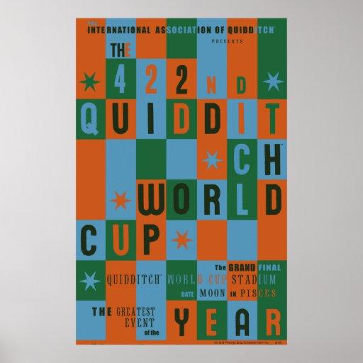 Affisch för Quidditch vmschackbräde