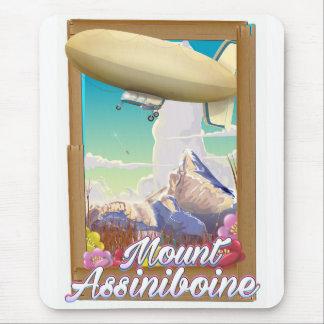 Affisch för semester för monteringsAssiniboine Musmatta