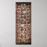Affisch för Sistine kapelltak