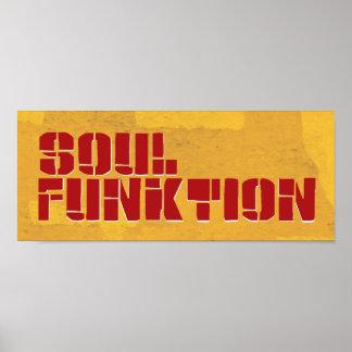 Affisch för SOUL FUNKTION Poster