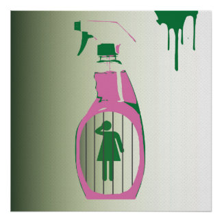 Affisch för sprejflaskaarrest poster
