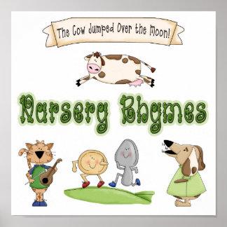 Affisch för tryck för konst för djur för temabarnk