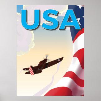 Affisch för USA klassikervärldskrig två Poster