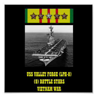 AFFISCH FÖR USS-DALSMEDJA (LPH-8)