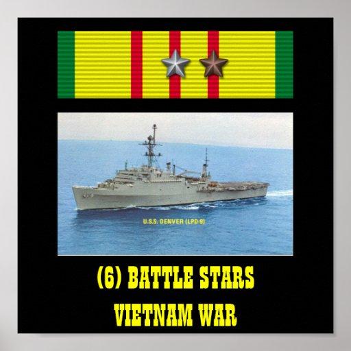 AFFISCH FÖR USS DENVER (LPD-9)