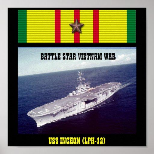 AFFISCH FÖR USS INCHON (LPH-12)