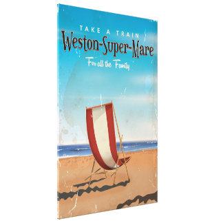 Affisch för Weston toppen Marevintage resor Canvastryck