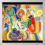 Affisch-Klassiker/Vintage-Robert Delaunay 13