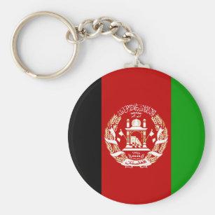 Afghanistan flagga AF Rund Nyckelring dd69505369dde