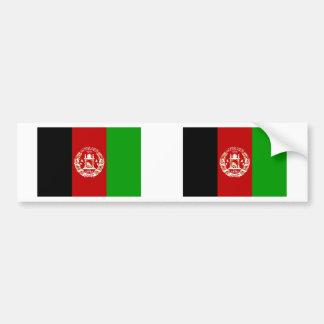Afghanistan flagga bildekal