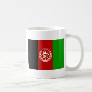 Afghanistan flagga kaffemugg