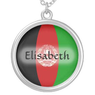 Afghanistan flagga + Känt halsband
