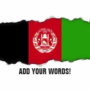 Afghanistan flagga rund nyckelring 043e134874a26