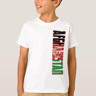 Afghanistan flagga t shirt