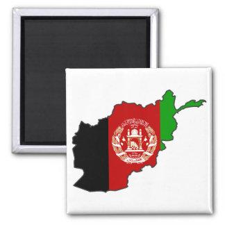 Afghanistan flaggakarta magnet