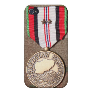 afghanistan kampanjmedalj iPhone 4 cases